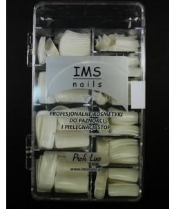 Tipsy IMS naturalne 500 szt. z krótką kieszonką w pudełku