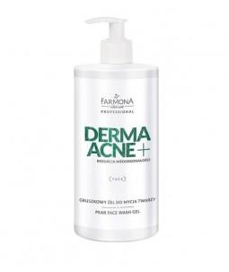 DERMAACNE+  Gruszkowy żel do mycia twarzy  500 ml