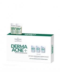 DERMAACNE+ Aktywny koncentrat normalizujący 5x5 ml