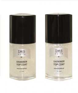 SHIMMER TOP COAT - Utwardzacz IMS 15 ml