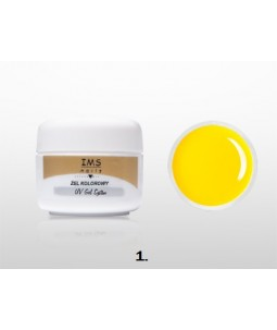 Żel IMS kolorowy /COLOR GEL 5ml nr 1 Yellow