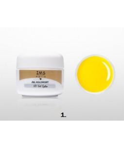 Żel IMS kolorowy /COLOR GEL 5ml nr 1 Yellow