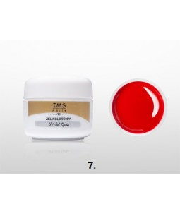 Żel IMS kolorowy /COLOR GEL 5ml nr 7 Red