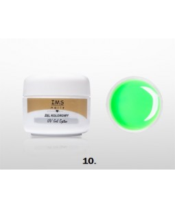 Żel IMS kolorowy/COLOR GEL 5 ml nr 10 Neon Green