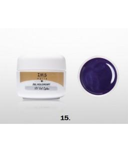 Żel IMS kolorowy/COLOR GEL 5 ml nr 15 Purple