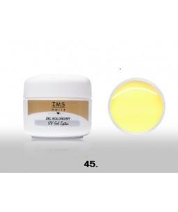 Żel IMS kolorowy/COLOR GEL 5 ml nr 45 Pastel Yellow