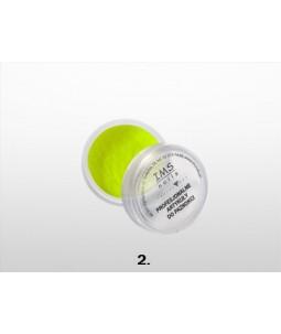 Puder akrylowy IMS kolor 10 ml nr 2 Neon Yellow