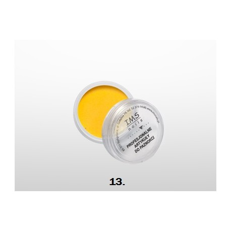 Puder akrylowy IMS kolor 10 ml nr 13 Pure Yellow