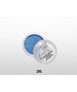 Puder akrylowy IMS kolor 10 ml nr 20 Glitter Aquamarine