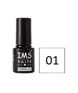 Żel hybrydowy STAGELAC IMS / UV GEL POLISH 5g nr 01